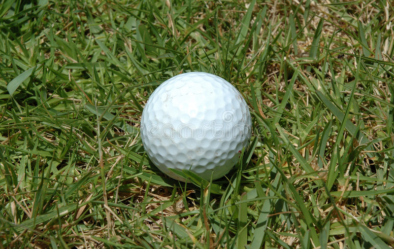 Bille De Golf 2 Photographie stock
