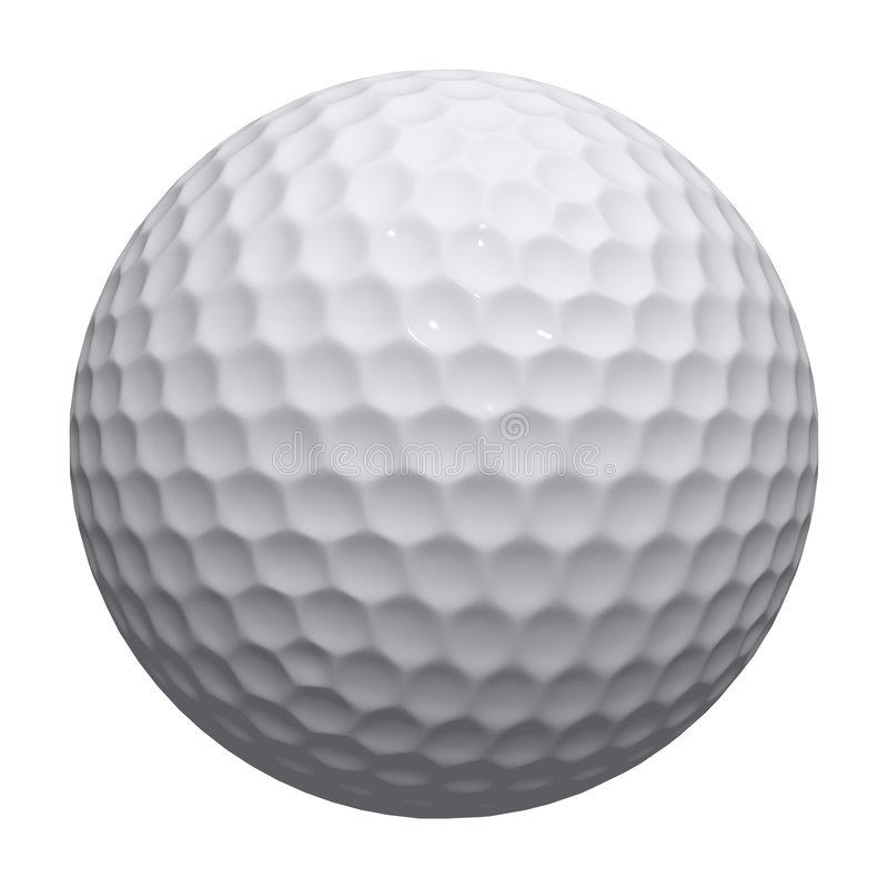 Bille de golf illustration stock