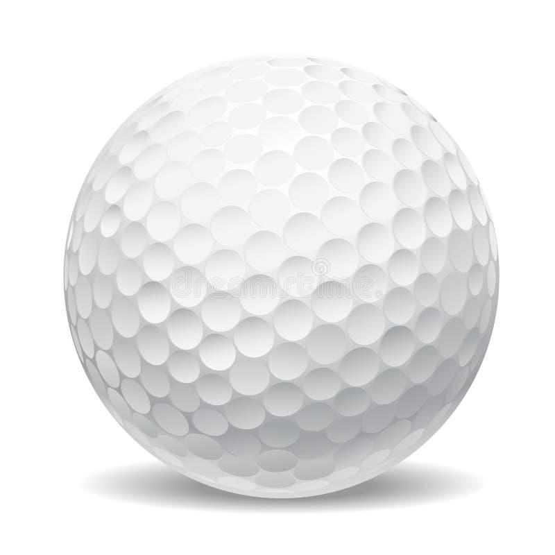Bille de golf illustration de vecteur