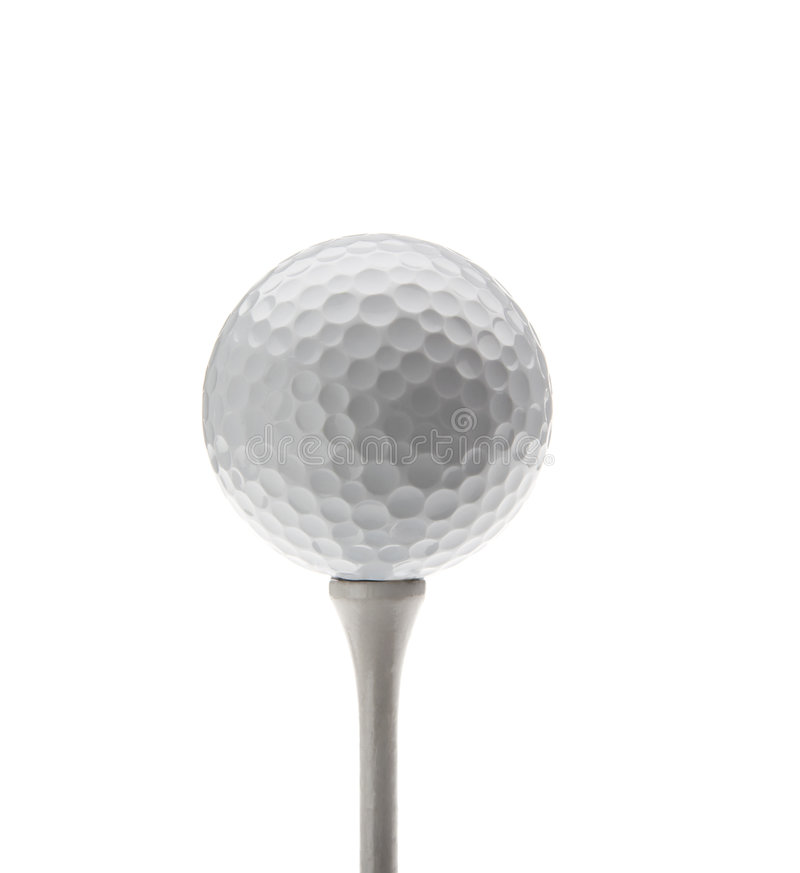 Bille de golf photographie stock libre de droits