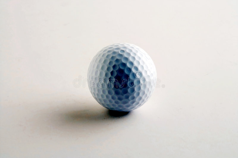 Bille de golf - balle de golf photo libre de droits