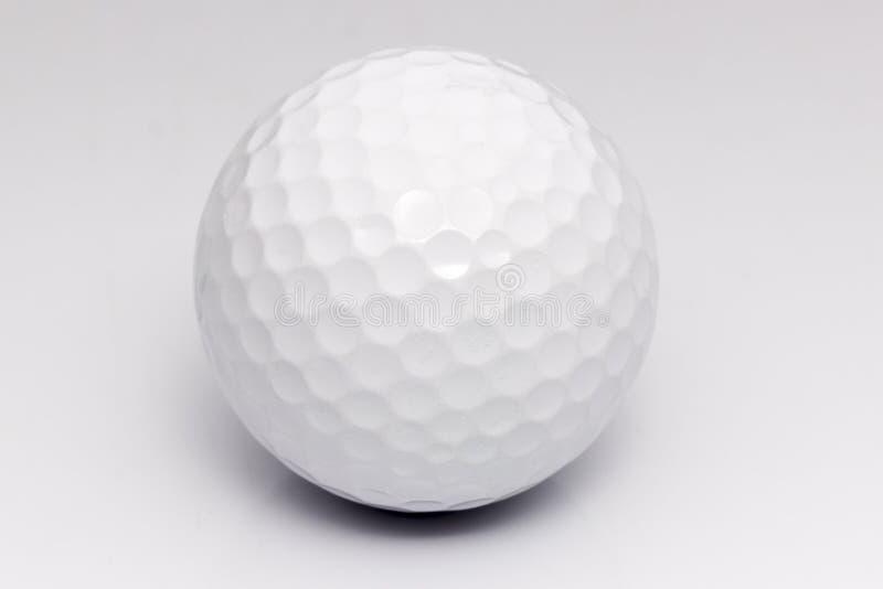 Bille de golf blanche photographie stock libre de droits