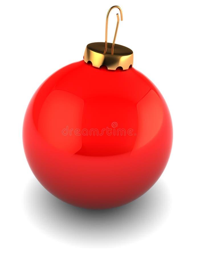 Bille de Noël illustration libre de droits
