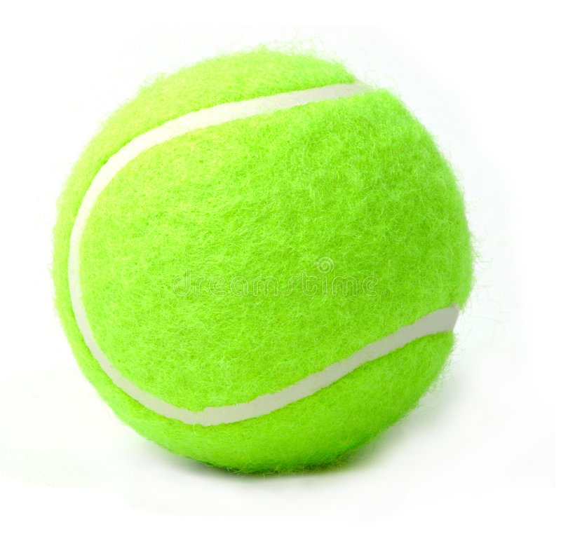 Bille de tennis photos libres de droits