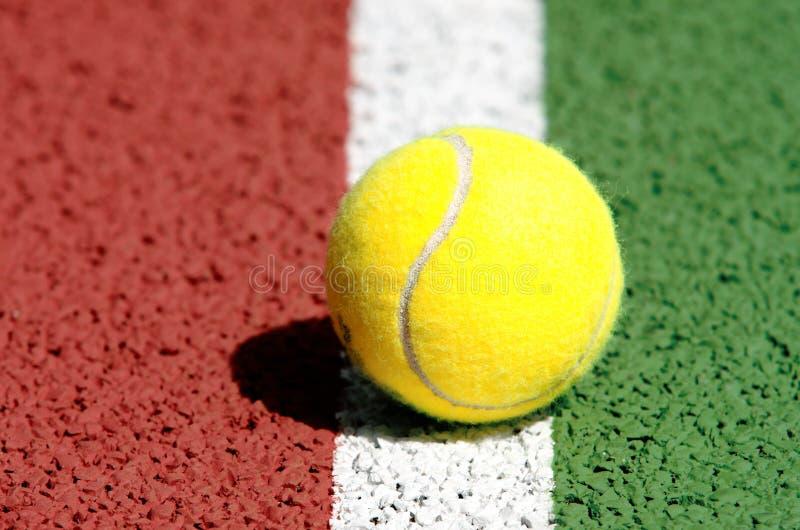 Bille de tennis photo libre de droits