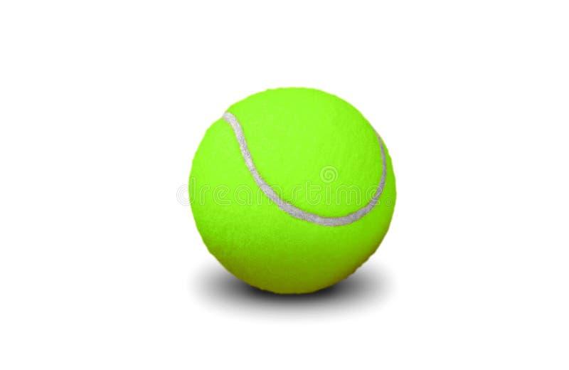 Bille de tennis verte image stock