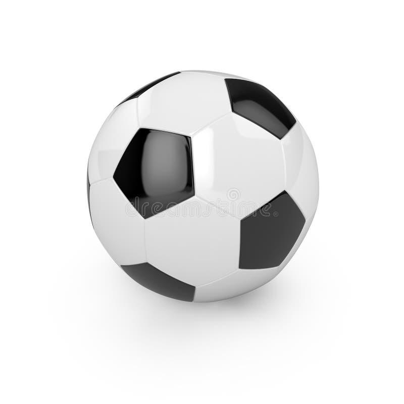 Bille du football illustration de vecteur