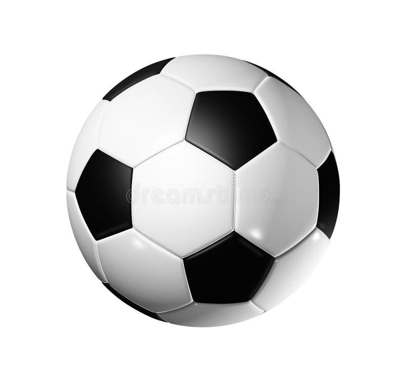 Bille du football du football illustration de vecteur