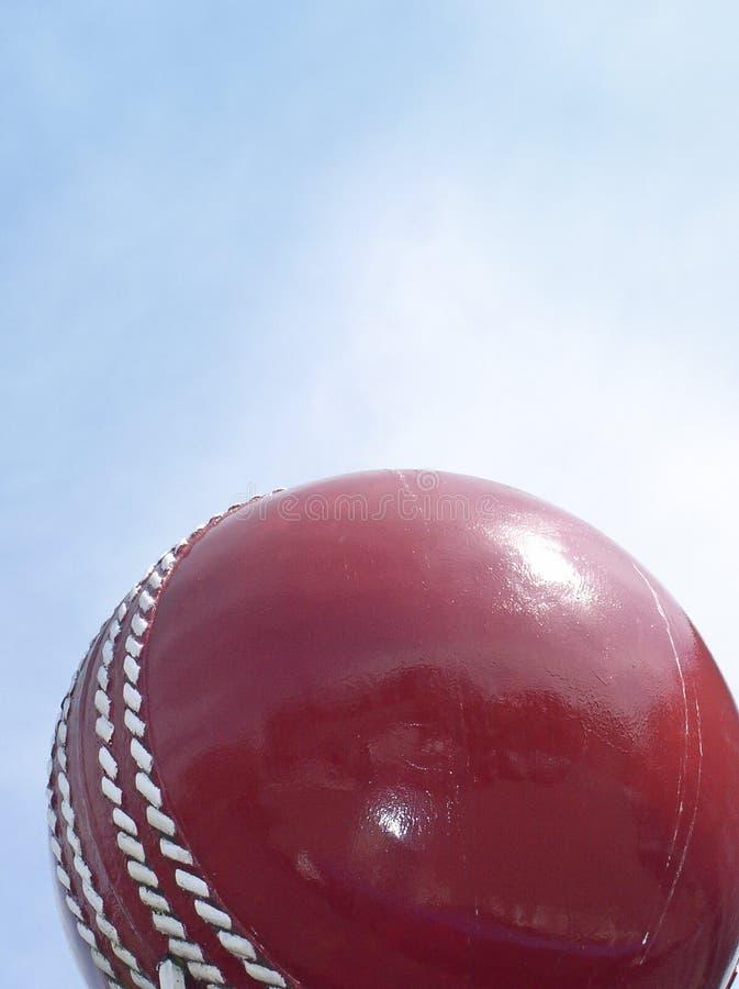 Bille et ciel de cricket photo stock