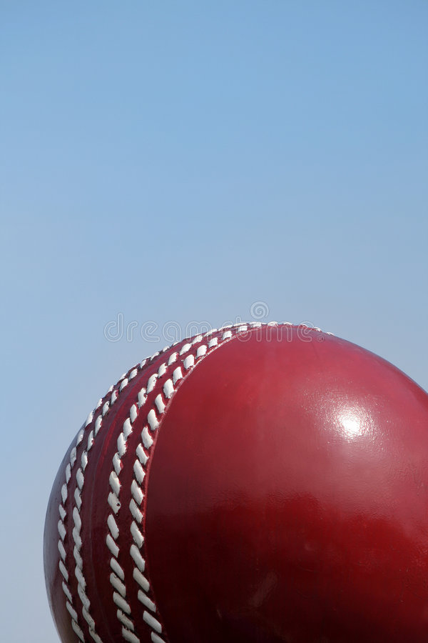 Bille et ciel de cricket photos stock