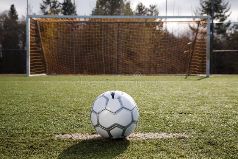 Bille ou football de football images libres de droits
