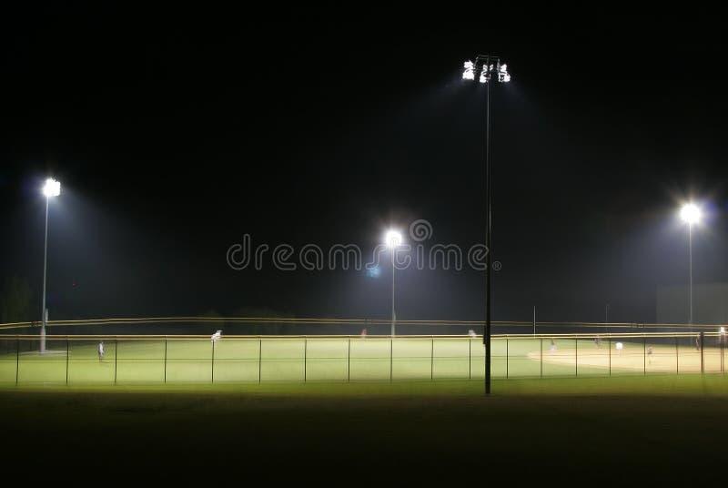 Bille Paark la nuit photographie stock