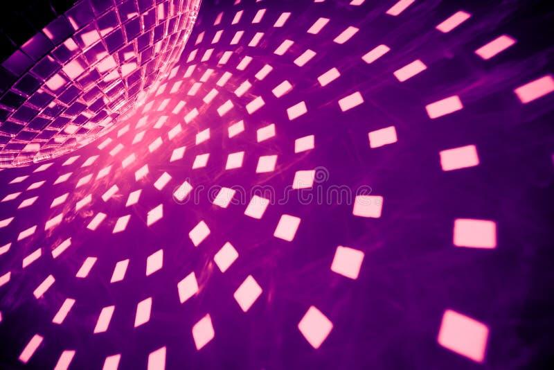 Bille pourprée de disco images libres de droits