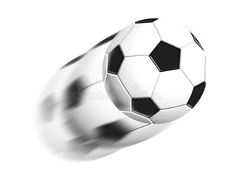 Bille rapide du football illustration de vecteur