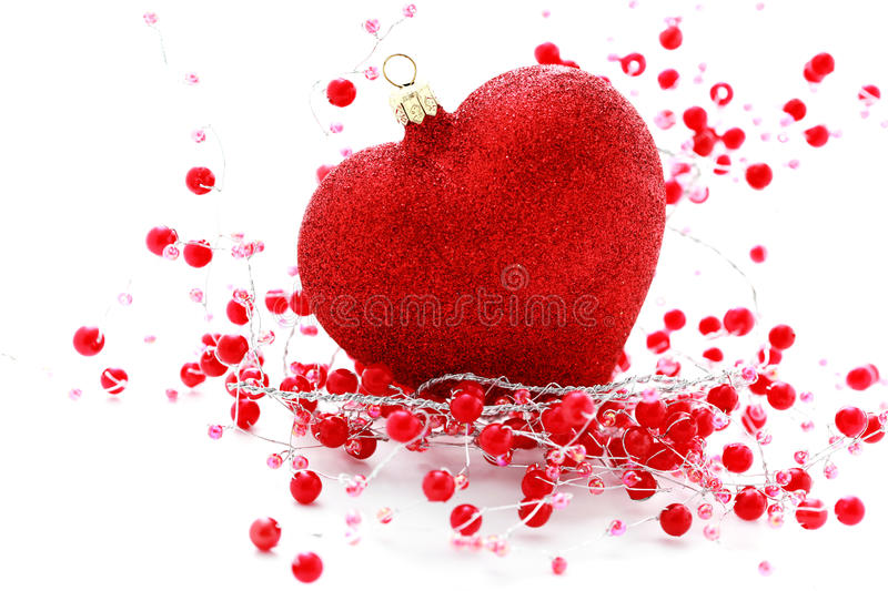 Bille rouge de coeur image stock