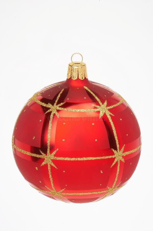 Bille rouge de Noël photo libre de droits