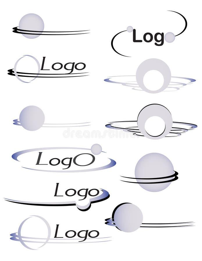 Billes 3 de logo illustration libre de droits