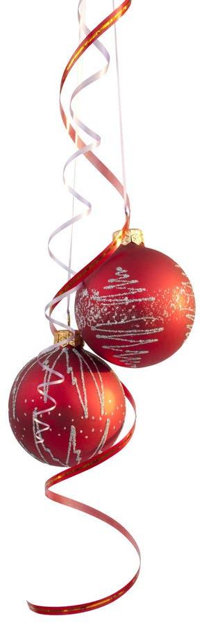 Billes d'arbre de Noël photographie stock libre de droits