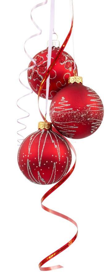 Billes d'arbre de Noël photo stock