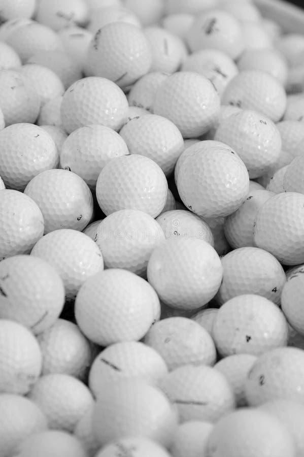 Billes de golf image libre de droits