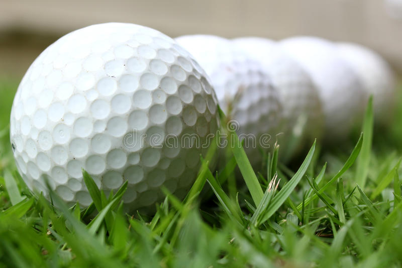 Billes de golf images stock