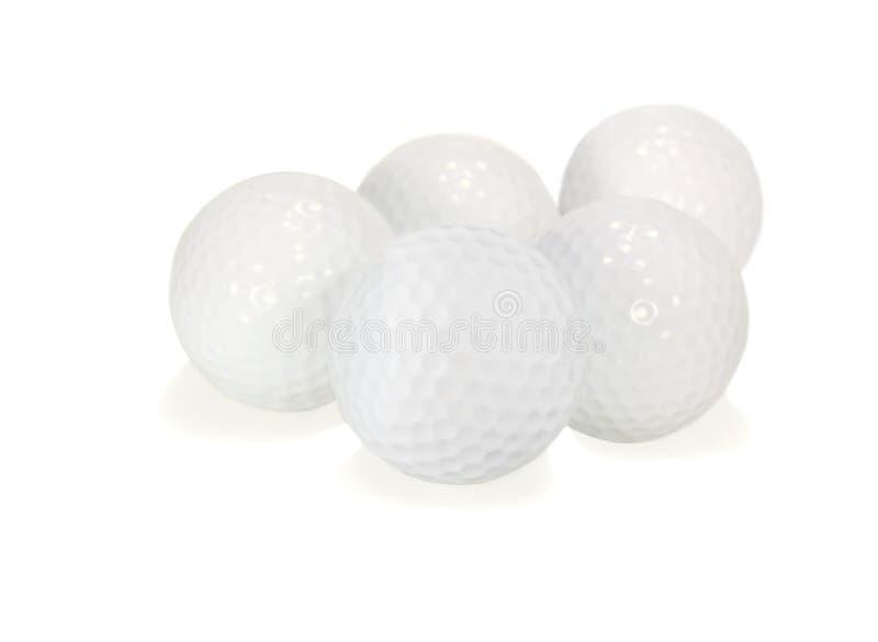 Billes de golf image stock
