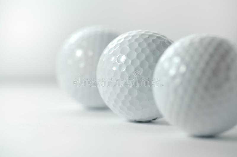 Billes de golf photo stock