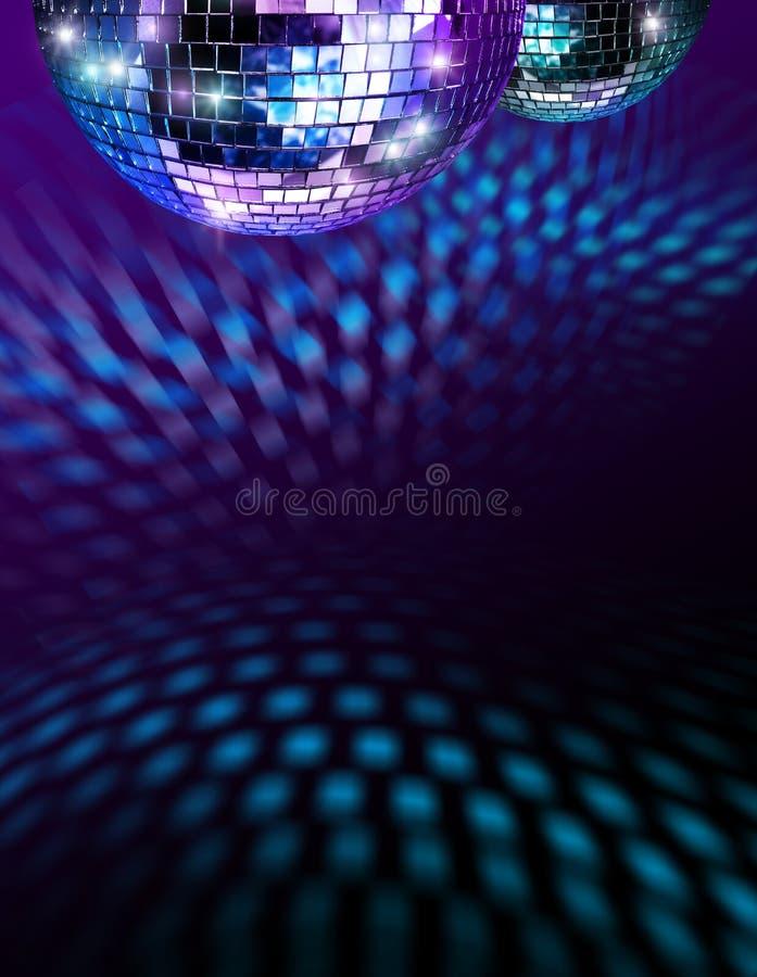 Billes de mirro de disco photographie stock