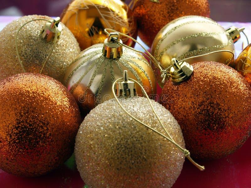 Billes de Noël images libres de droits