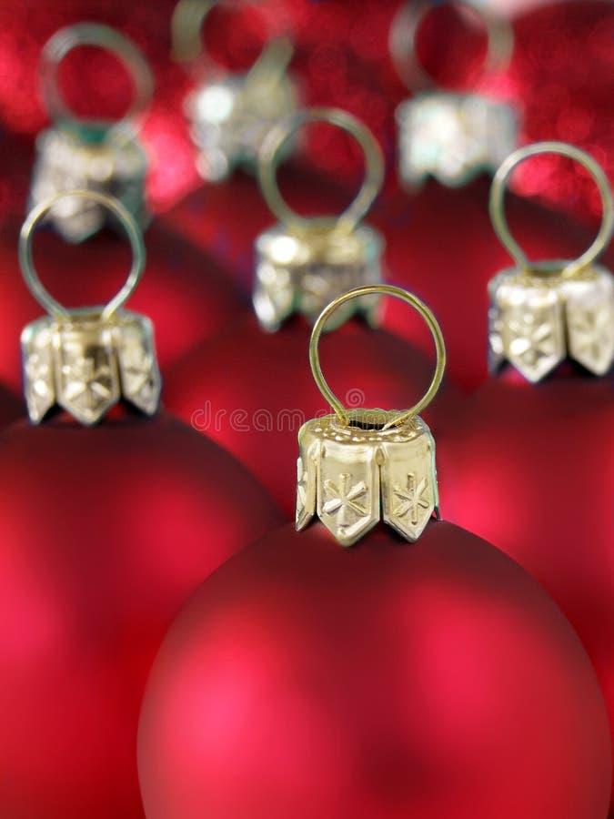 Billes de Noël photographie stock libre de droits