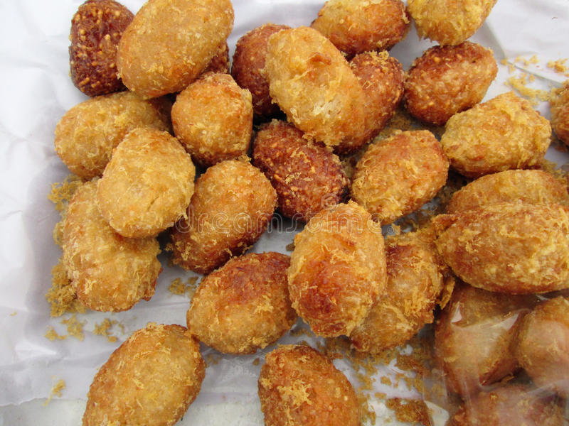 Billes de riz frit photos libres de droits