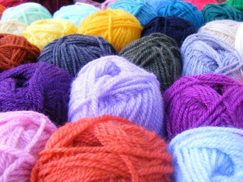 Billes des laines photographie stock libre de droits