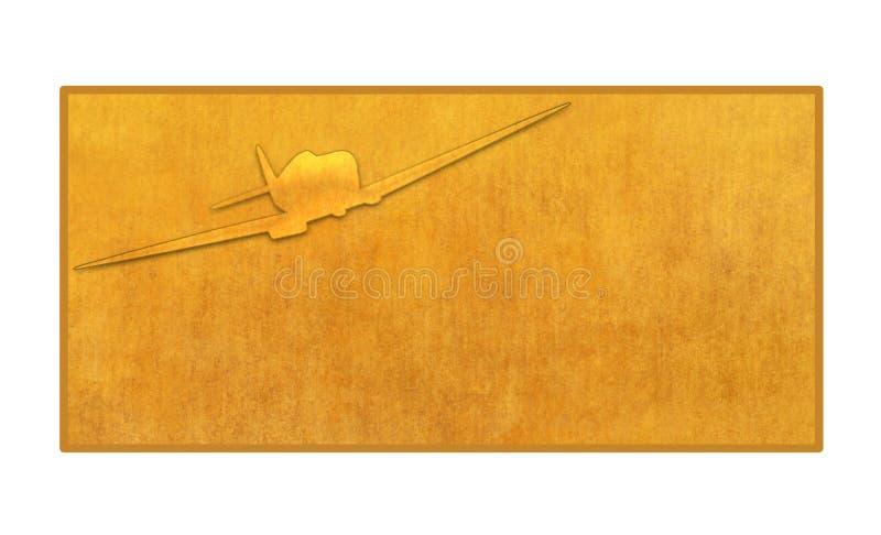 Billet illustration stock