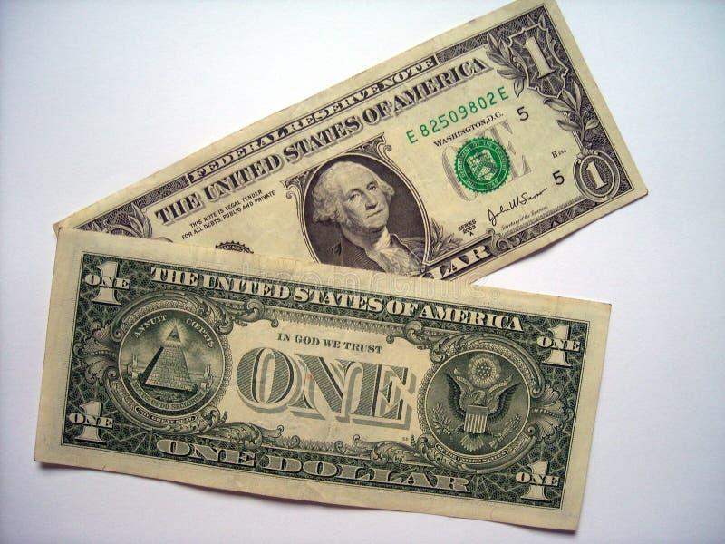 Billet d'un dollar photos libres de droits