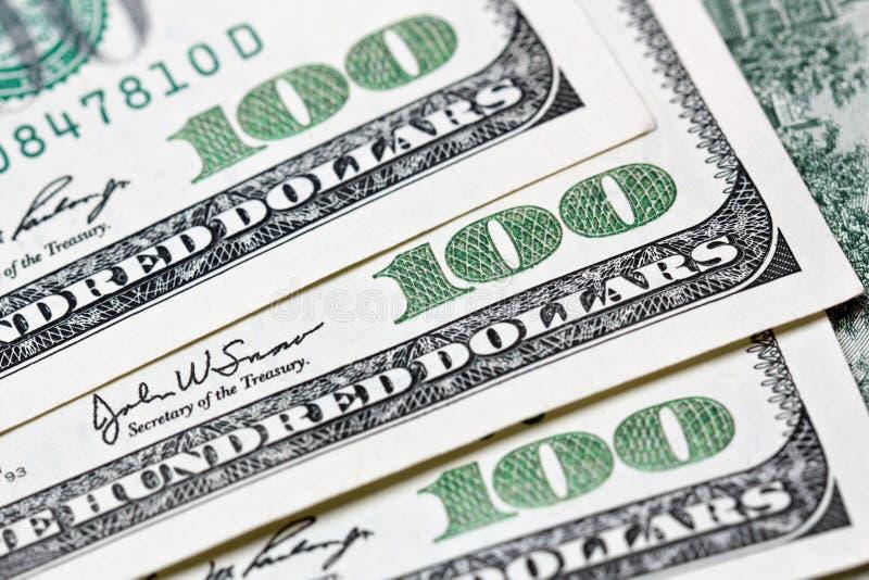 billet d'un dollar 100 images stock