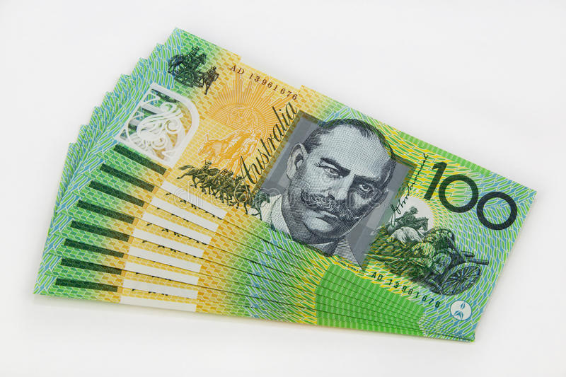 Billet de banque d'Australie photos stock