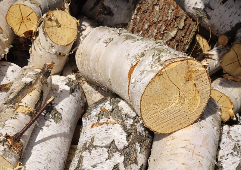 Billet of firewood.