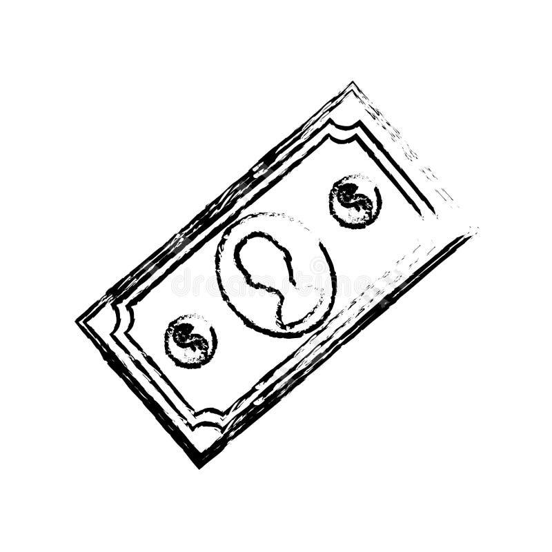 Billet money cash. Icon illustration graphic design vector illustration