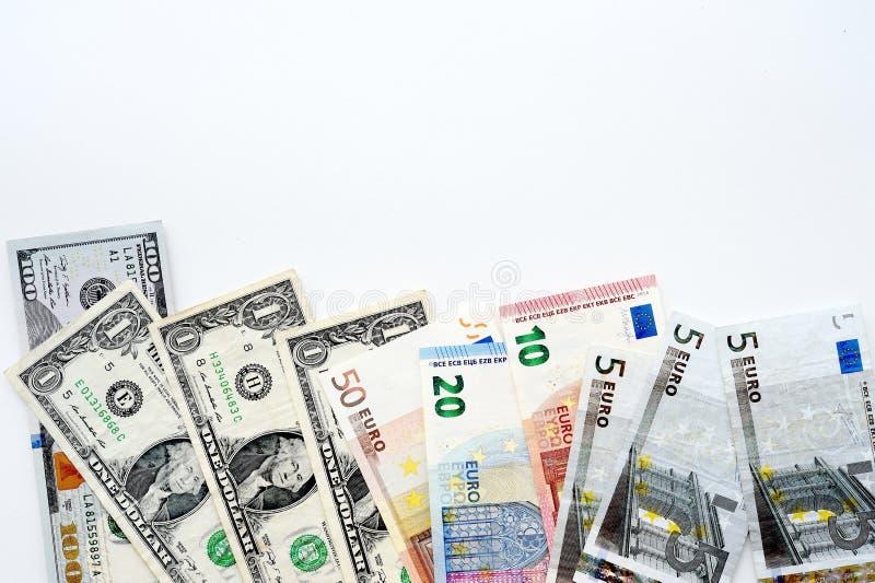 Billete de banco aislado en el fondo blanco imagen de archivo libre de regalías