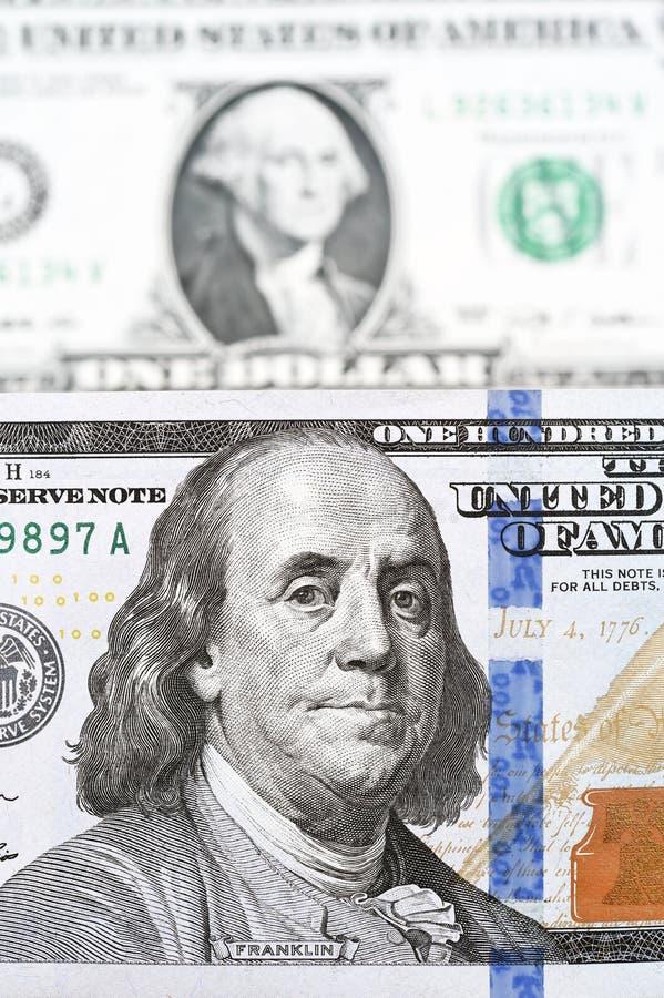 Billete de banco aislado en el fondo blanco imágenes de archivo libres de regalías
