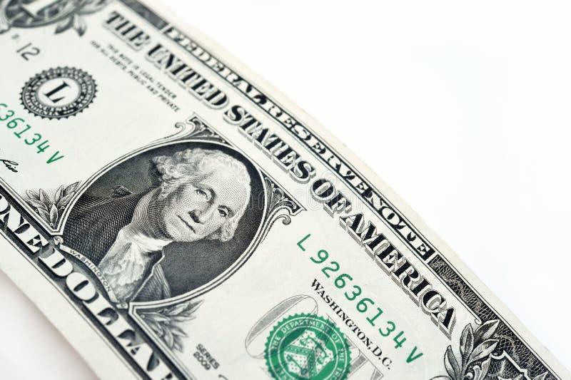 Billete de banco aislado en el fondo blanco foto de archivo