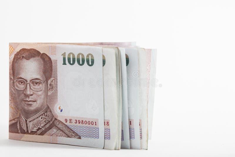 Billete de banco tailandés fotos de archivo