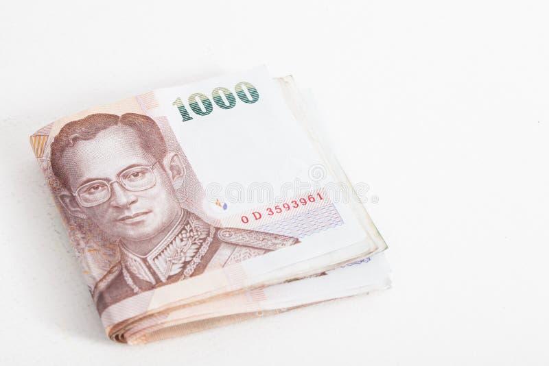 Billete de banco tailandés imagen de archivo libre de regalías