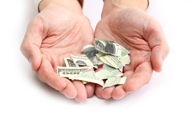 Billete de dólar fotografía de archivo libre de regalías