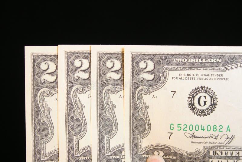 Billete de dólar dos
