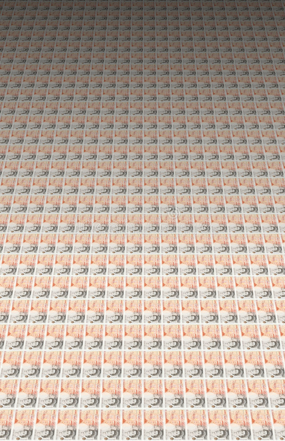 billetes de banco de 50 libras libre illustration