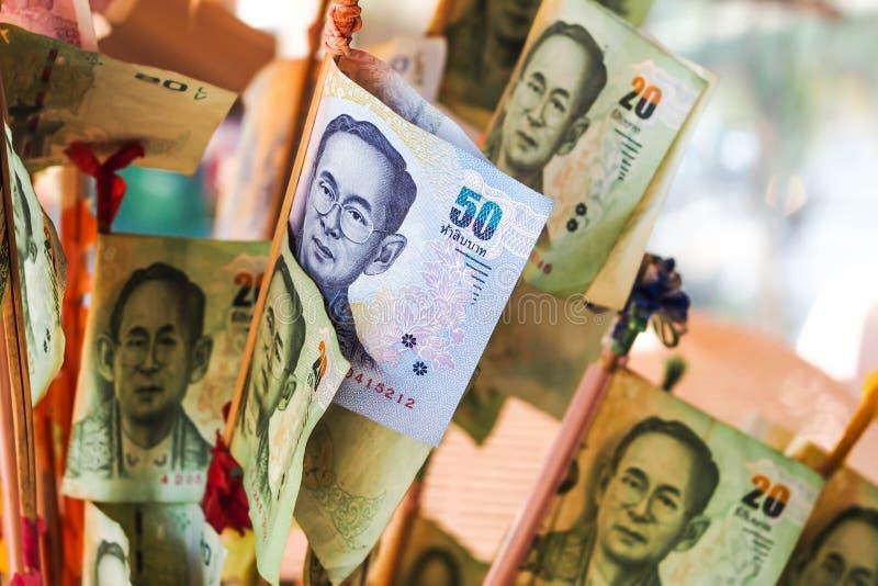 Billetes de banco de Tailandia foto de archivo libre de regalías