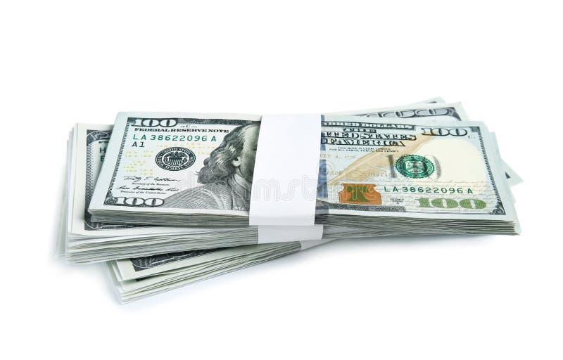 Billetes de banco del d?lar Divisa nacional americana fotos de archivo