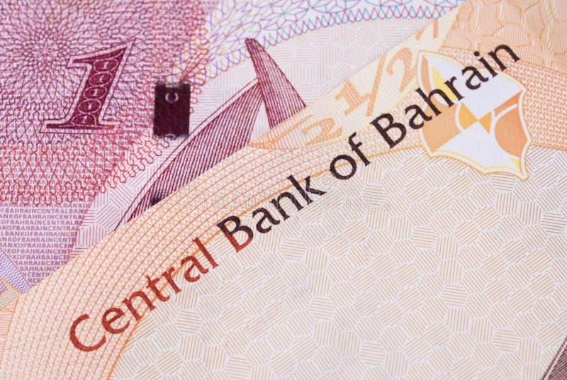 Billetes de banco del dinero en circulación de Bahrein fotografía de archivo