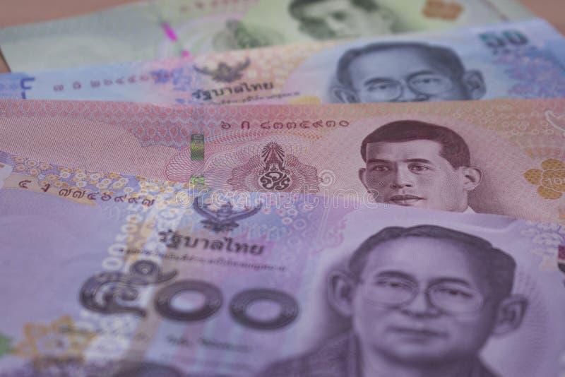 Billetes de banco de Tailandia fotos de archivo libres de regalías